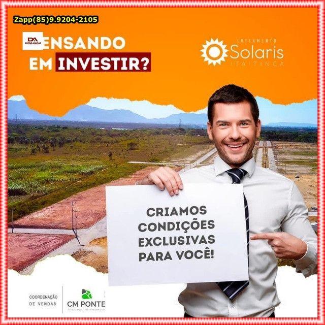 Solaris Loteamento ( Não perca tempo , venha investir)$@$ - Foto 7