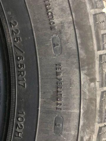 2 Pneus  aro 17 usados 255 / 65R17 - Foto 4