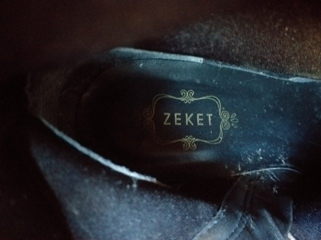 Bota preta, couro, cano longo, Zeket, 37 - Foto 2