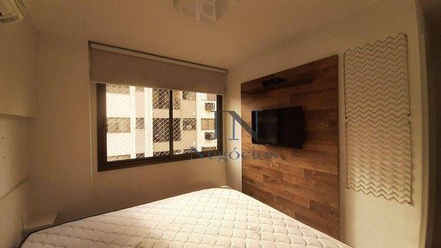 Apartamento com 2 dormitórios para alugar, 69 m² por R$ 2.500,00/mês - Gragoatá - Niterói/ - Foto 13