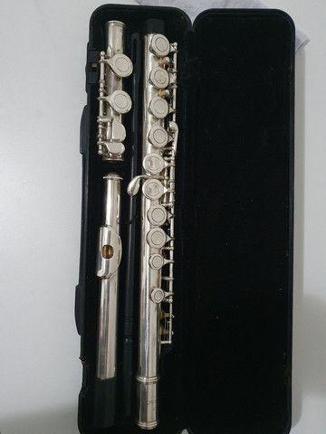 Flauta Eagle prateada  - Foto 2