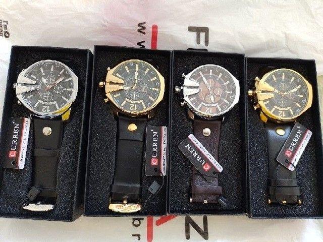 Relógio curren social  - Foto 4