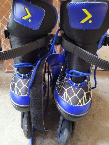 Vendo patins infantil tam 33-35 - Foto 5