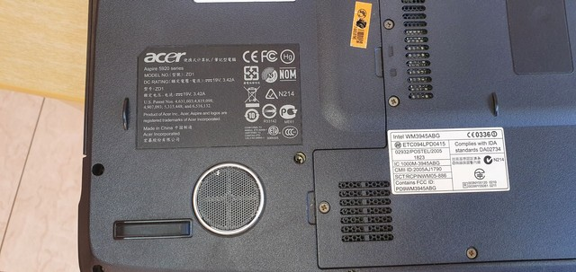 Note book Acer aspire 5920 com defeito no estado - Foto 3