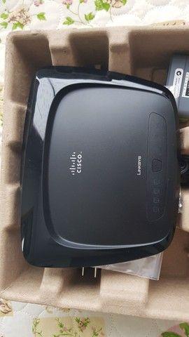Roteador Wi-Fi Cisco Linksys WRT54G2
