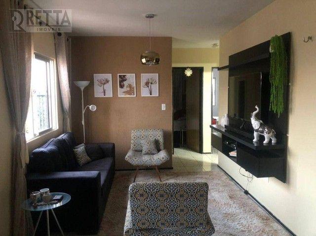 Apartamento com 3 dormitórios à venda, 70 m² por R$ 200.000,00 - Vila União - Fortaleza/CE - Foto 7