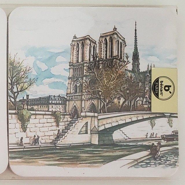 Porta Copos Cortiça com 6un Importado Paris França - Foto 3