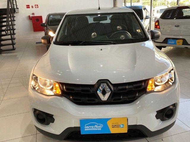 .Renault Kwid 1.0 Zen 2020 -Único dono! Garantia de Fabrica! - Foto 2