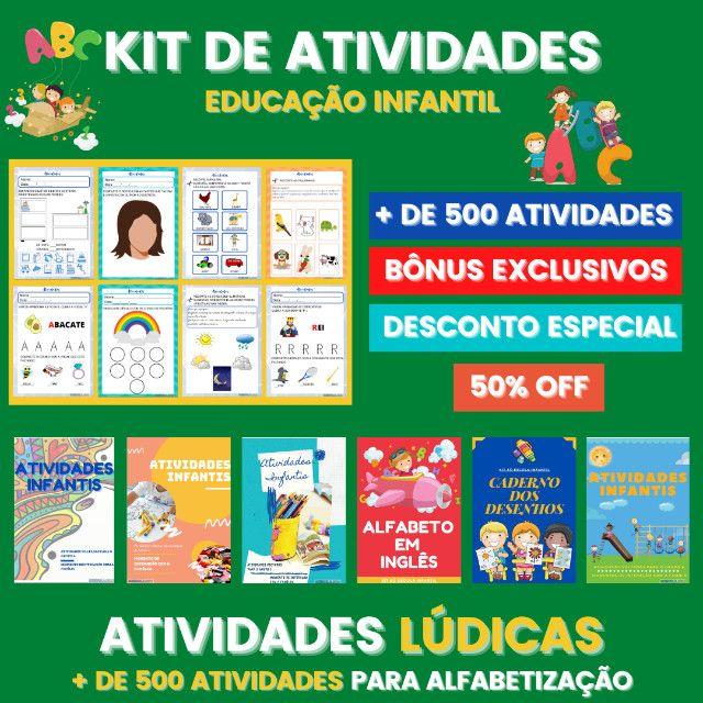 .:: Kit de Atividades ::. Kit Infantil - Foto 5