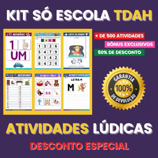 .:: Kit de Atividades ::. Kit T D A H - Foto 3