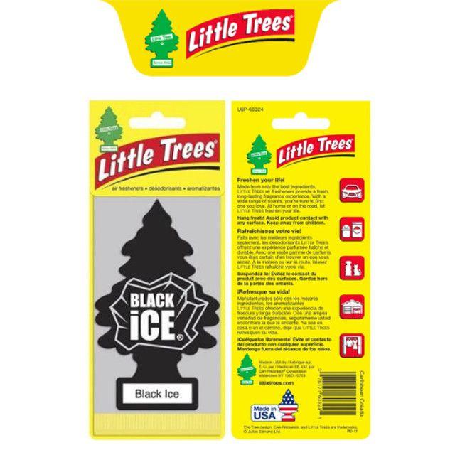 2 Little Trees - Black Ice / Cheirinho De Frescor - Original - Foto 2
