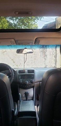 Honda Accord V6 vtec completo teto couro. Nave. Pego menor valor  - Foto 10