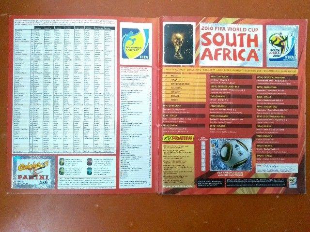 Álbum Copa Do Mundo 2010 África Do Sul - Panini - Foto 3