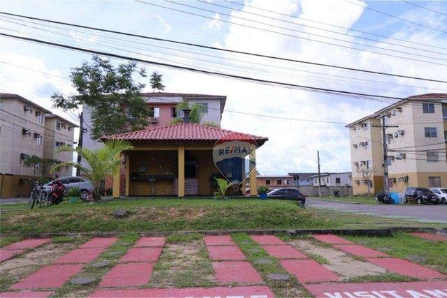 Apartamento com 3 dormitórios à venda, 62 m² por R$ 135.807 - Cond. Jasmim - Tarumã Manaus - Foto 4