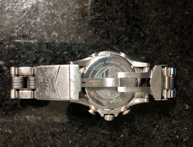 Relógio Original Náutica A45001 - Foto 3