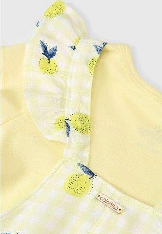 Jardineira Salopete Lemon 1 ano - Foto 5