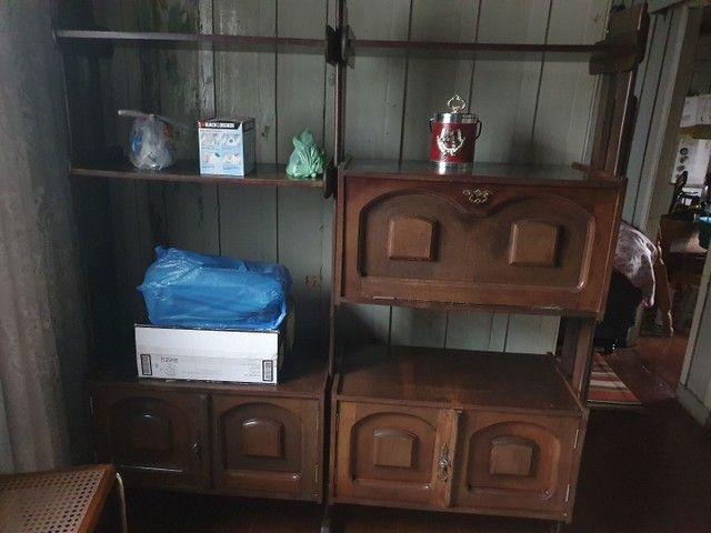 Vendo Cama de solteiro e estante para Sala - Foto 2