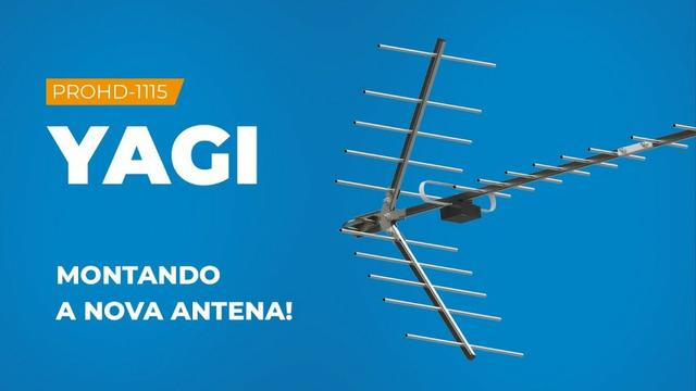 Antena digital yagi prohd-1115-Proeletronic Boca de Jacaré