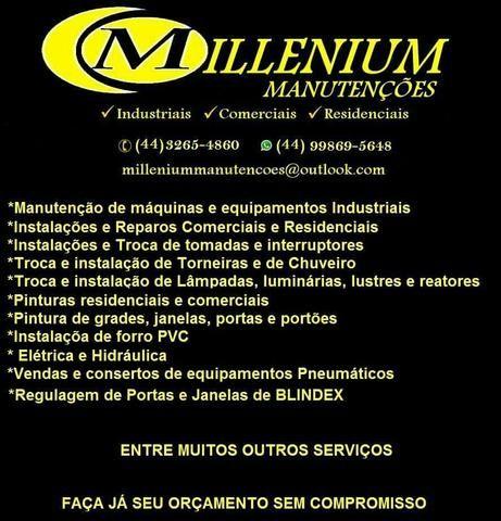 Millenium manutenção