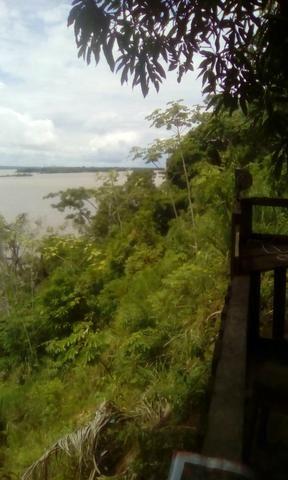 Vendo tereno na beira do rio