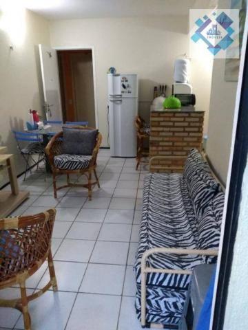 Apartamento com 1 dormitório à venda, 38 m² por R$ 220.000 - Porto das Dunas - Aquiraz/CE - Foto 2