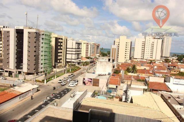 Apartamento com 2 dormitórios à venda, 65 m² por R$ 350.000 - Jatiúca - Maceió/AL - Foto 7