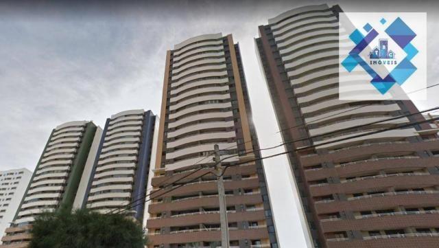 Apartamento de 122m² no porcelanato com móveis projetados. - Foto 2