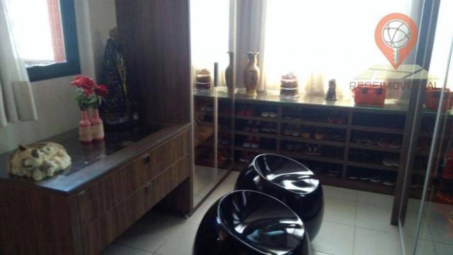 Apartamento com 2 dormitórios à venda, 110 m² por R$ 550.000 - Jatiúca - Maceió/AL - Foto 20