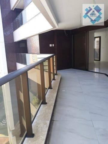 Apartamento com 4 dormitórios à venda, 235 m² por R$ 2.000.000 - Meireles - Fortaleza/CE - Foto 7