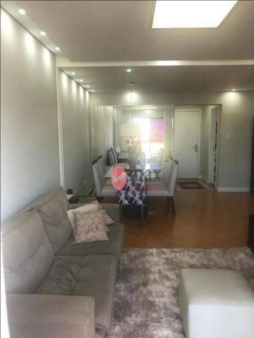 Apartamento com 3 dormitórios à venda, 100 m² por R$ 450.000 - Centro - Suzano/SP - Foto 7