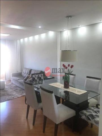 Apartamento com 3 dormitórios à venda, 100 m² por R$ 450.000 - Centro - Suzano/SP - Foto 3