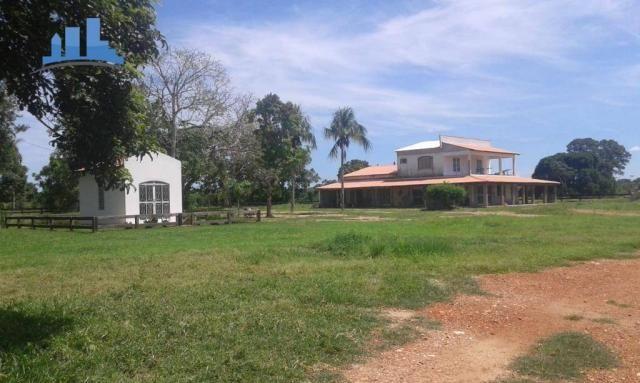FAZENDA PARA GADO DE 14.950 HECTARES NA REGIÃO DE POCONÉ-MT - Foto 3