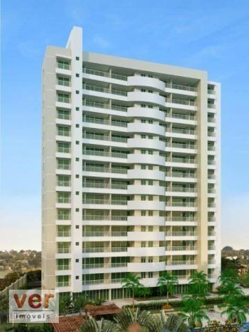Apartamento com 3 dormitórios à venda, 80 m² por R$ 599.000,00 - Cambeba - Fortaleza/CE - Foto 3