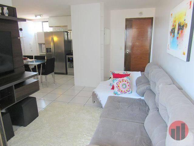 Apartamento com 3 dormitórios para alugar, 63 m² por R$ 1.900/mês - Mucuripe - Fortaleza/C - Foto 12