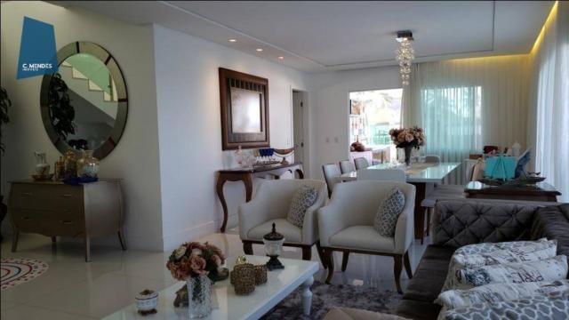 Casa no Alphaville Fortaleza com 4 dormitórios à venda, 310 m² por R$ 1.800.000 - Cararu - - Foto 7