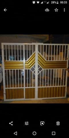 Portão galvanizado PROMOÇÃO - Foto 2