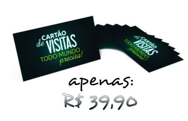 Cartão de Visita R$ 39,90