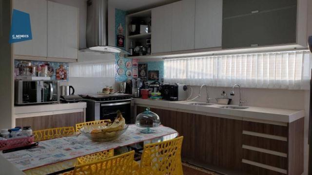 Casa no Alphaville Fortaleza com 4 dormitórios à venda, 310 m² por R$ 1.800.000 - Cararu - - Foto 5