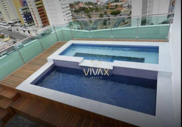 Flat com 1 dormitório à venda, 43 m² por R$ 360.000 - Ponta Negra - Natal/RN - Foto 17