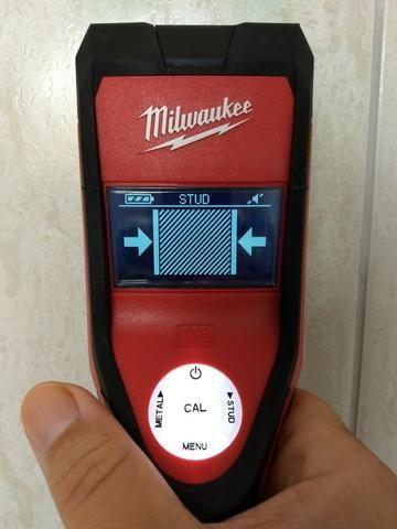 Detector A Bateria Sub Scanner 12v Milwaukee 2291-159 -220 V - Foto 4