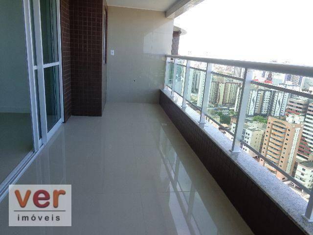 Apartamento à venda, 130 m² por R$ 1.165.398,49 - Cocó - Fortaleza/CE - Foto 12