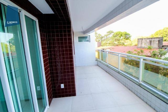 Apartamento para alugar, 105 m² por R$ 2.300,00/mês - Jardim das Oliveiras - Fortaleza/CE - Foto 4