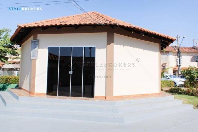 Casa no Condomínio Canachuê com 3 dormitórios à venda, 67 m² por R$ 250.000 - Jardim Santa - Foto 18