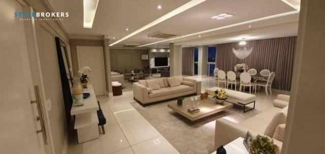 Apartamento no Edifício Privilege Goiabeiras com 4 dormitórios à venda, 255 m² por R$ 2.10 - Foto 5