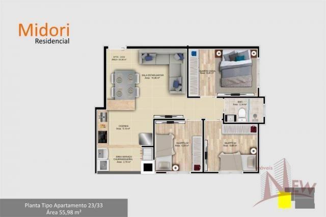 Apartamento 03 quartos no Parque da Fonte, São José dos Pinhais - Foto 11