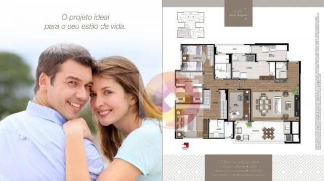 Apartamento com 3 dormitórios à venda, 106 m² por R$ 784.742,00 - Boa Vista - Curitiba/PR - Foto 7
