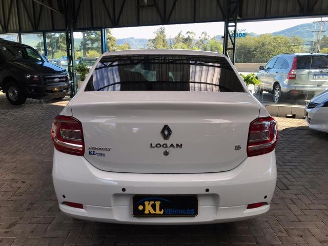 Renault- Logan Dynamique 1.6 8v Flex (Impecável, Seminovo) - Foto 4