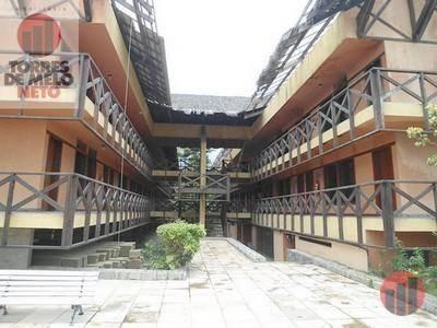 Apartamento para alugar, 40 m² por R$ 1.200,00 - Cumbuco - Caucaia/CE