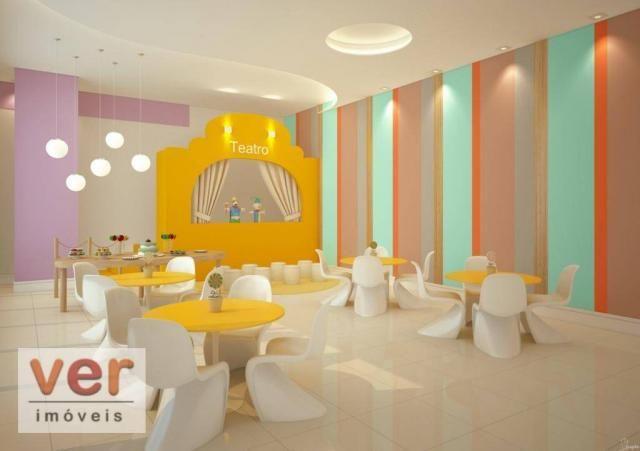 Apartamento com 3 dormitórios à venda, 80 m² por R$ 599.000,00 - Cambeba - Fortaleza/CE - Foto 14