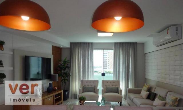 Apartamento à venda, 153 m² por R$ 800.000,00 - Engenheiro Luciano Cavalcante - Fortaleza/ - Foto 4